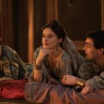 Una Scena Di Domina con Agrippa, Livia e Gaio Credits: Sky