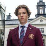 """Edvin Ryding è il protagonista di """"Young Royals"""". Credits: Johan Paulin/Netflix."""