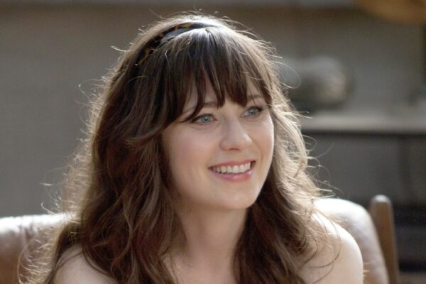"Zooey Deschanel nei panni di Jess in ""New Girl"". Credits: 20th Century Fox/Disney Plus."
