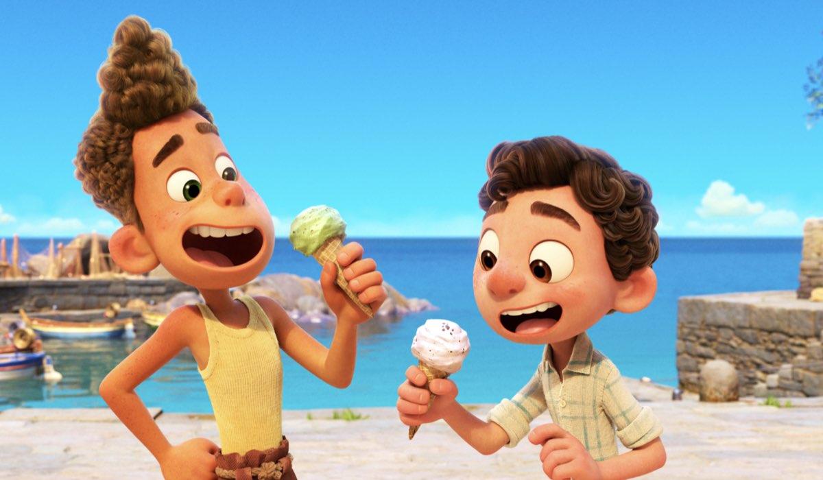 Alberto e Luca nel film d'animazione Luca. Credits: Disney Plus