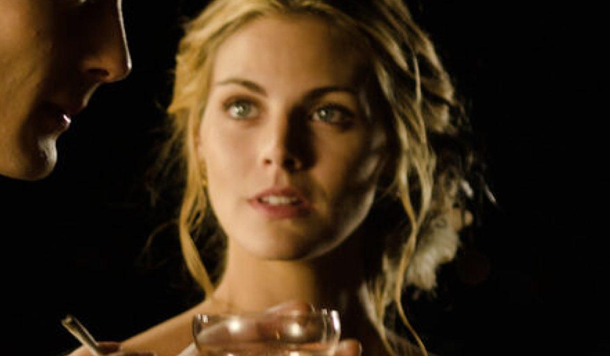 Amaia Salamanca Interpreta Alicia In Grand Hotel Credits: Mediaset