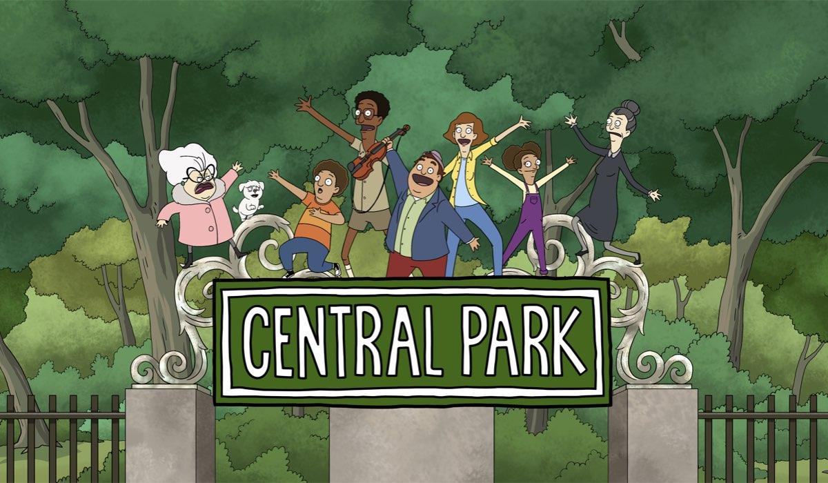 """Poster della seconda stagione di """"Central Park"""". Credits: Apple TV+."""