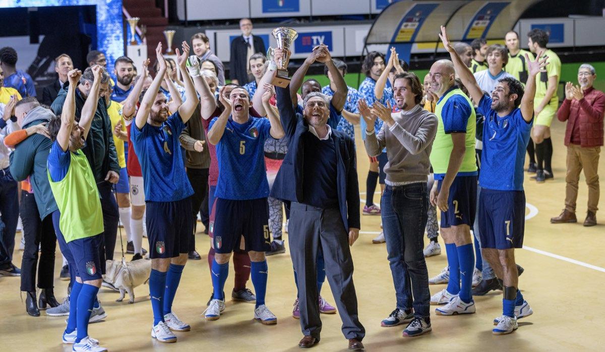 Crazy For Football con Sergio Castellitto. Credits: Rai