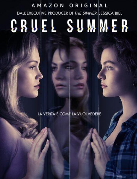 Cruel Summer, il poster della serie Amazon Prime Video. Credits: Prime Video.