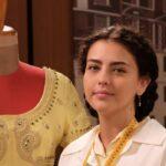 Il Paradiso Delle Signore 4 Daily 2: Chiara Russo interpreta Maria Puglisi, qui in Atelier. Credits: Rai