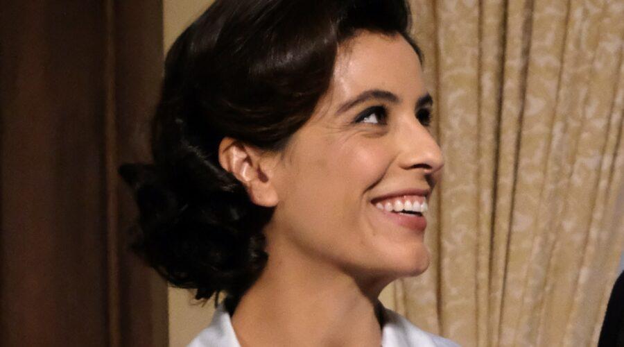 Il Paradiso Delle Signore 5: Beatrice Conti interpretata da Caterina Bertone, qui in una scena al Circolo. Credits: Rai
