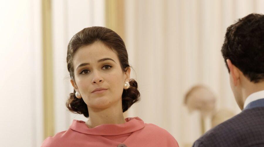 Il Paradiso Delle Signore 5: Ilaria Rossi interpreta Gabriella Rossi, qui in una scena al grande magazzino. Credits: P. Bruni e Rai