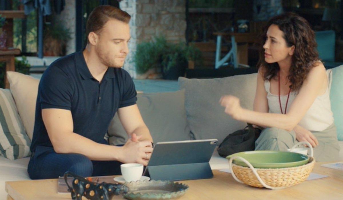 Love Is In The Air, episodio 23: Serkan Bolat interpretato da Kerem Bürsin e Ayfer Yıldız interpretata da Evrim Doğan. Credits: Mediaset