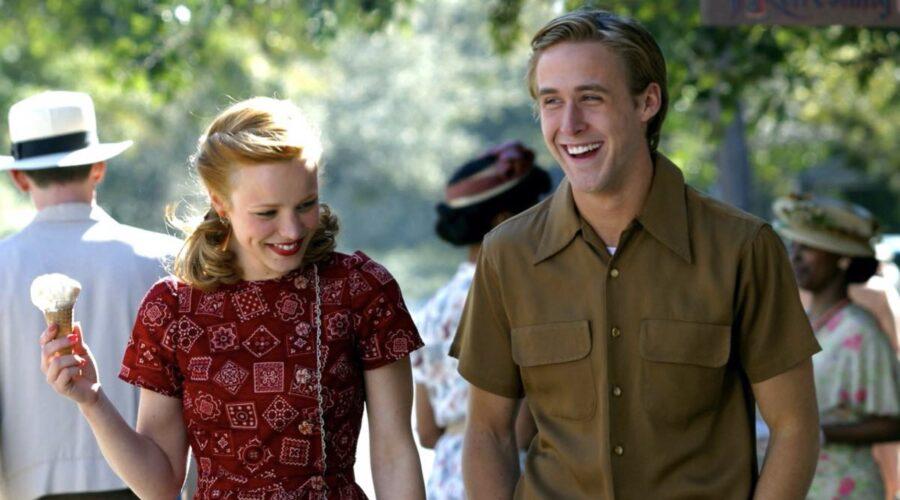 Rachel McAdams e Ryan Gosling Ne Le Pagine Della Nostra Vita (2004). Credits: © New Line/ Courtesy Everett Collection