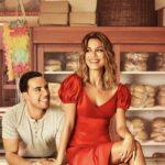The Baker And The Beauty: la locandina con Daniel e Noa interpretati rispettivamente da Victor Rasuk e Nathalie Kelley. Credits: Mediaset