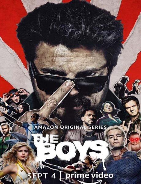 La locandina di The Boys. Credits: Amazon Studios.