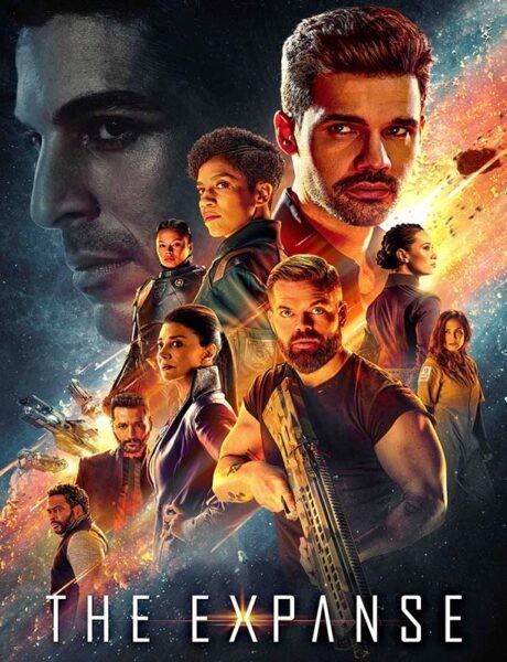 Il poster della serie TV The Expanse. Credits: Amazon Prime Video.