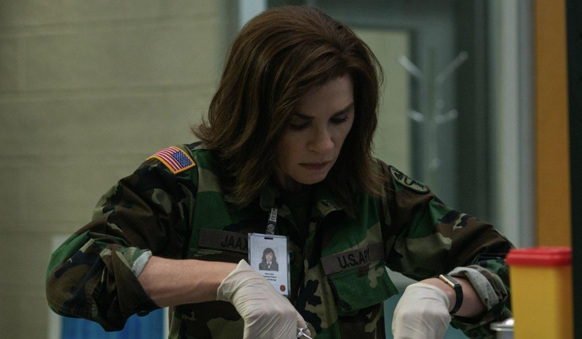 The Hot Zone - Area di contagio: Julianna Margulies interpreta la Dottoressa Nancy Jaax. Credits: Disney+/Star