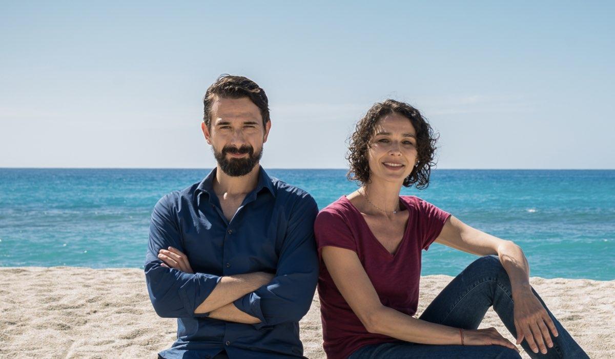 Tutta Colpa Della Fata Morgana, qui Davide Iacopini e Nicole Grimaudo in un posato. Credits: Pepito Produzioni e Rai