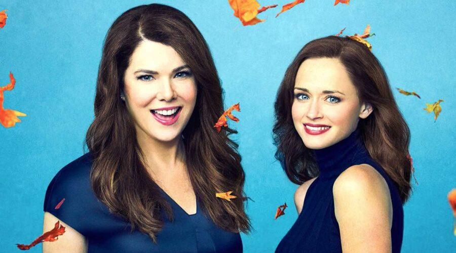 Lauren Graham (Lorelai Gilmore) e Alexis Bledel (Rory Gilmore) in Una Mamma Per Amica Di Nuovo Insieme Serie TV. Credits: Netflix