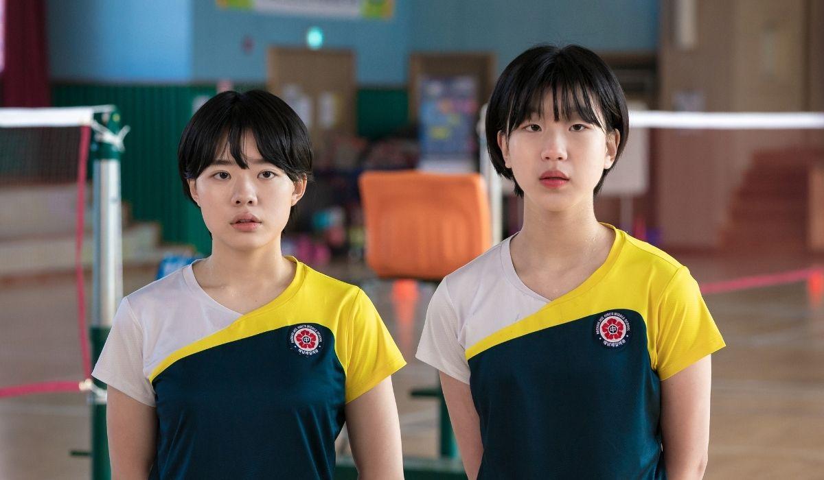 Badminton Club: Lee Jae-in (Han Se-Yoon) e Lee-Ji-won (Lee Han-Sol). Credits: Netflix.