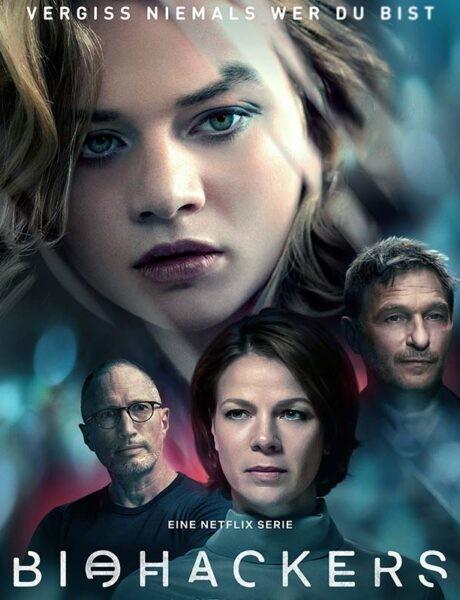 La locandina di Biohacker. Credits: Netflix.