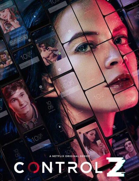 La locandina di Control Z. Credits: Netflix.