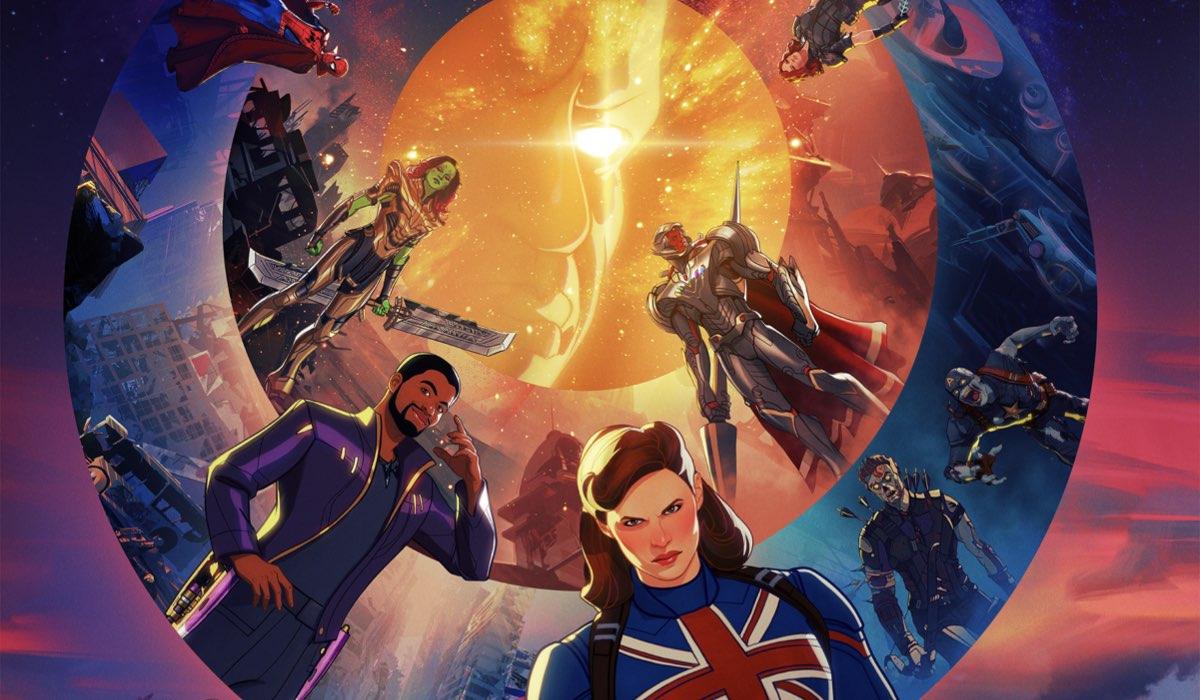 La keyart della serie animata Marvel What If... - Credits: Marvel Studios/Disney+