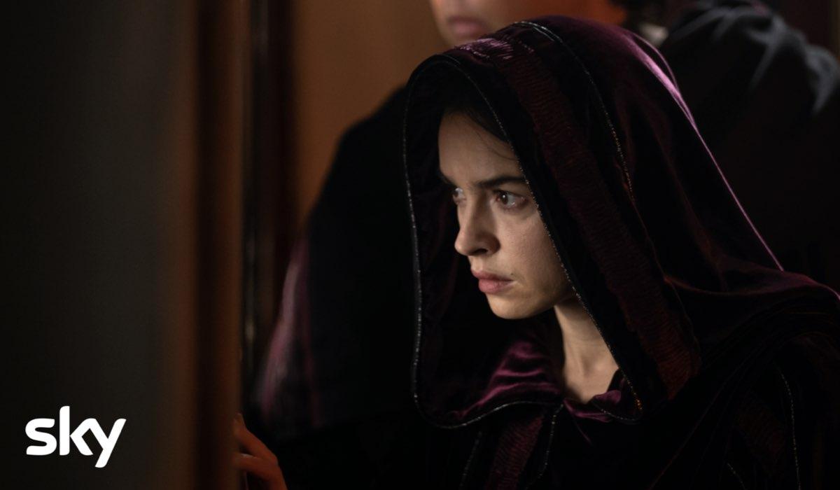"""Kasia Smutniak (Livia Drusilla), in una scena di """"Domina"""". Credits: Antonello & Montesi e Sky Italia."""