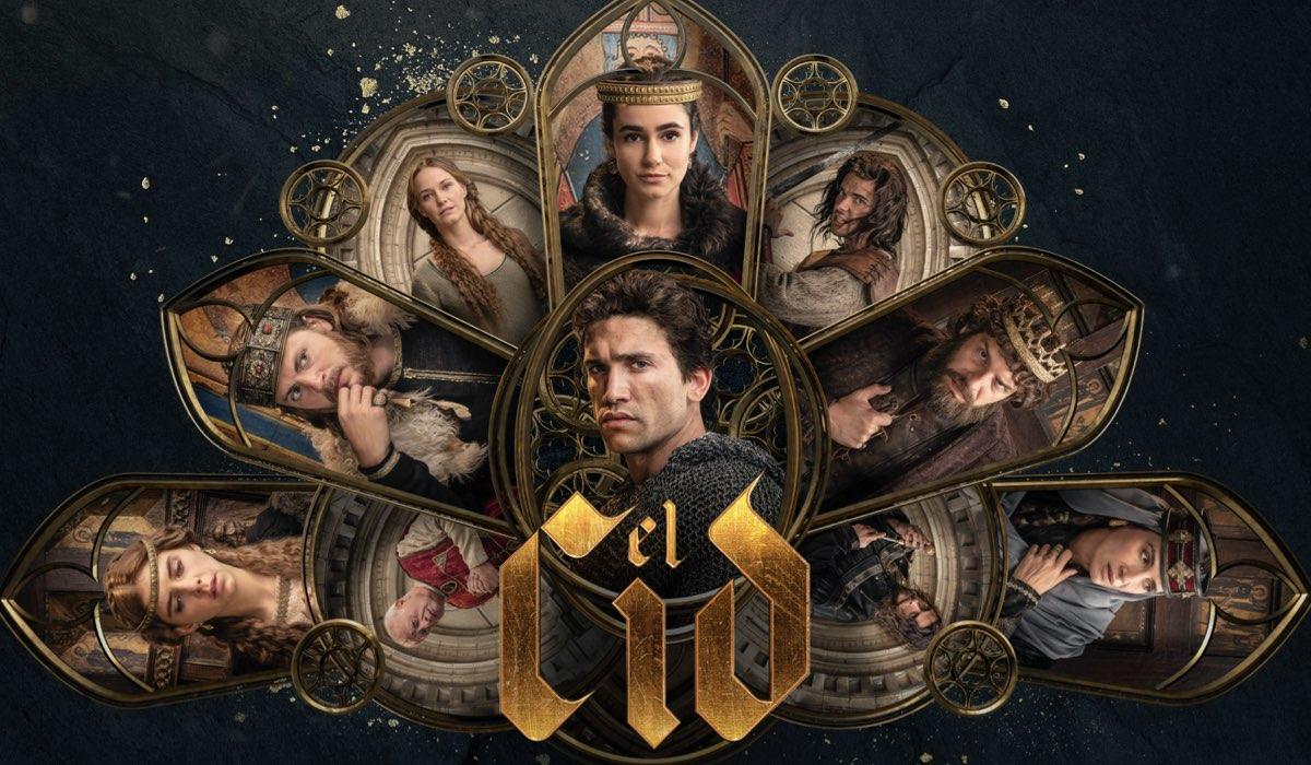 """Poster della seconda stagione di """"El Cid"""", dal 15 luglio su Prime Video. Credits: Amazon Studios."""