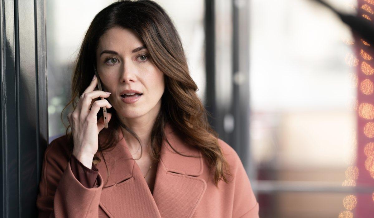 """Jewel Staite in una scena di """"Avvocati di Famiglia"""", dal 6 luglio su Sky Investigation. Credits: Sky Italia."""