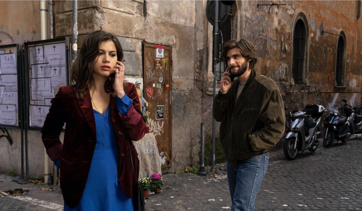 Da sinistra: Matilda (Cristina Cappelli) e Daniel (Angelo Spagnoletti) in una scena della serie. Credits: Netflix.