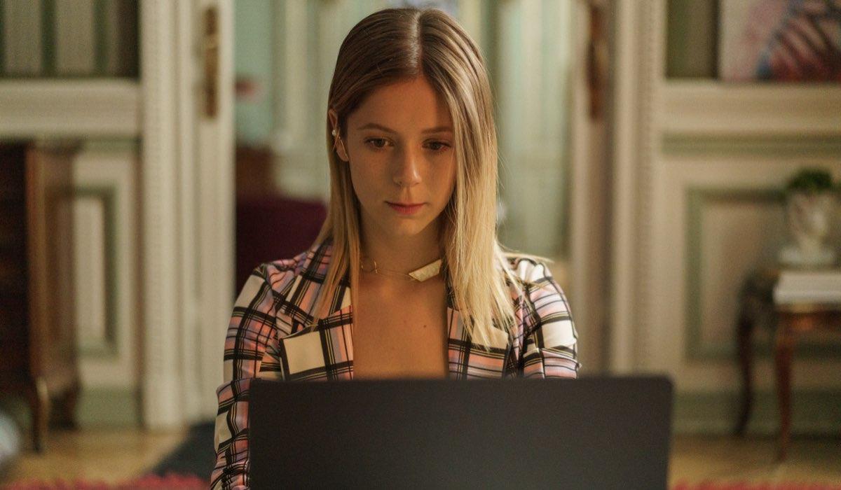 "Georgina Amorós interpreta Cayetana nella quarta stagione di ""Élite"". Credits: Niete/Netflix."