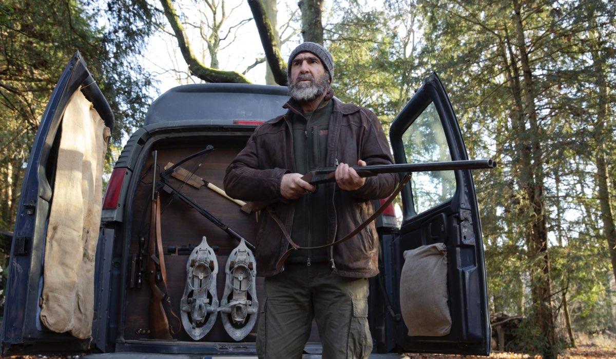 Eric Cantona ne Il Giustiziere su Sky Investigation. Credits: Sky