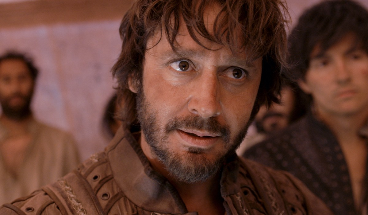 Benjamín Vicuña (Rodrigo De Quiroga) in una scena de