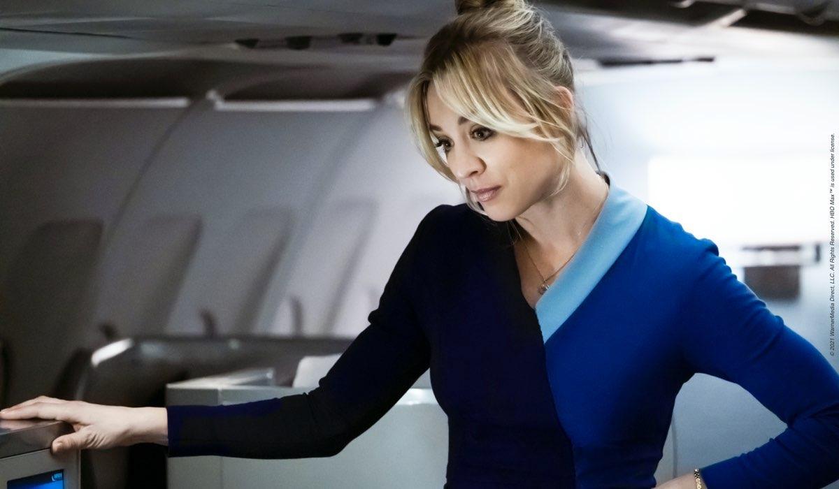 L'Assistente di Volo - The Flight Attendant, qui Kaley Cuoco. Credits: Sky Italia