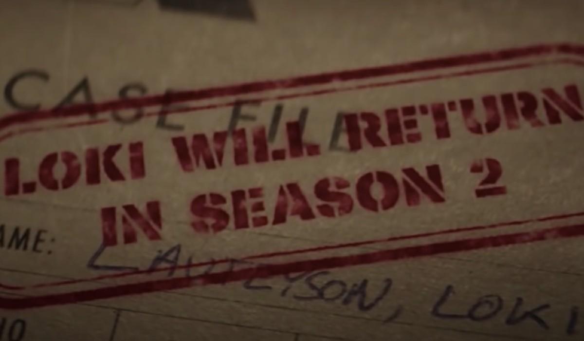 Fotogramma del teaser di Loki 2 stagione apparso alla fine del sesto episodio. Credits: Cattura schermo/Marvel Studios/Disney+.