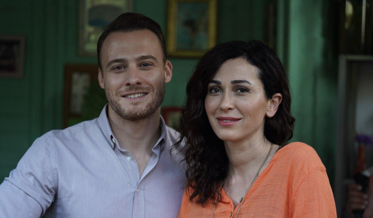Love Is In The Air: Serkan Bolat interpretato da Kerem Bürsin e Ayfer Yıldız interpretata da Evrim Doğan. Credits: Mediaset