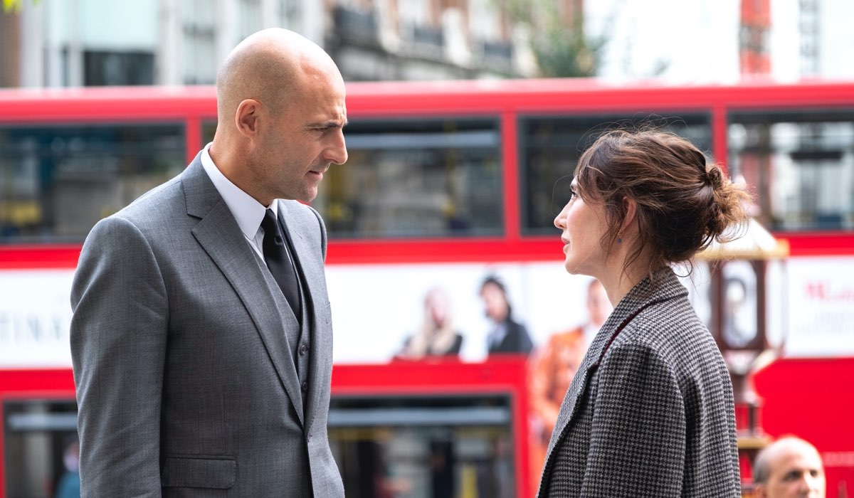 Mark Strong (Daniel Milton) e Carice Van Houten(Anna Willems) In Temple Credits: Sky