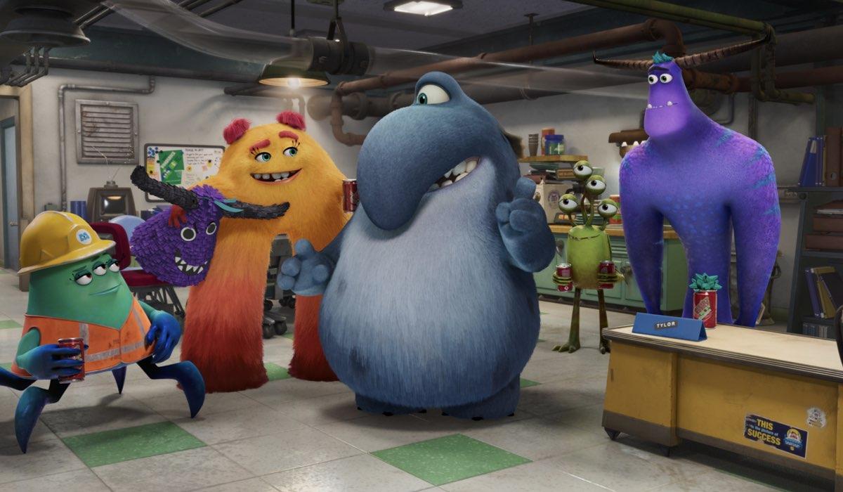 """Una scena di """"Monsters & Co. La Serie - Lavori in corso"""". Credits: Disney Television Animation/Disney Plus."""