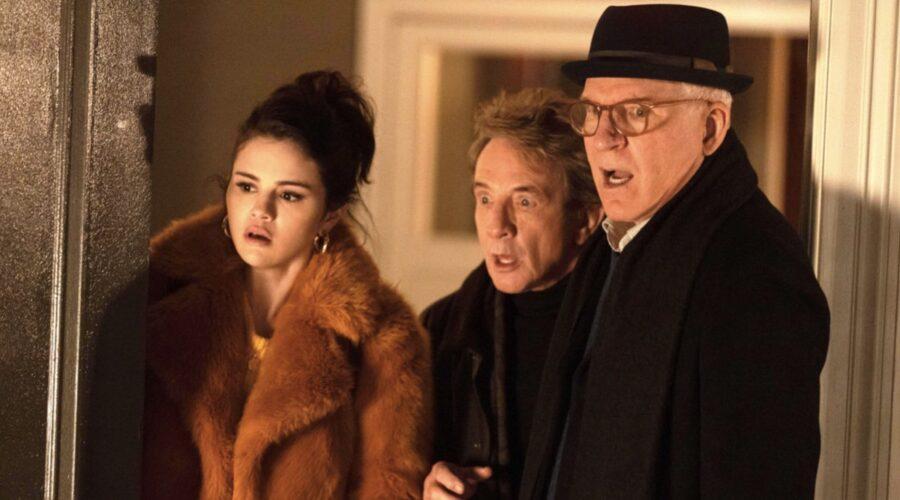 Selena Gomez, Martin Short e Steve Martin nella nuova serie tv Star OriginalOnly Murders in the Building- Credits: Star/Disney+
