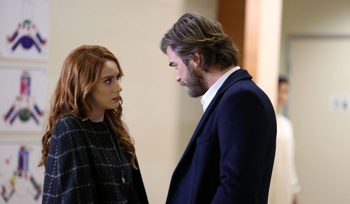 Brave and Beautiful: Banu (Gözde Türkpençe) e Cesur (Kivanç Tatlitug) in una scena dell'episodio 33. Credits: Mediaset