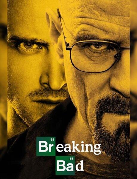La locandina della serie televisiva Breaking Bad. Credits: AMC.