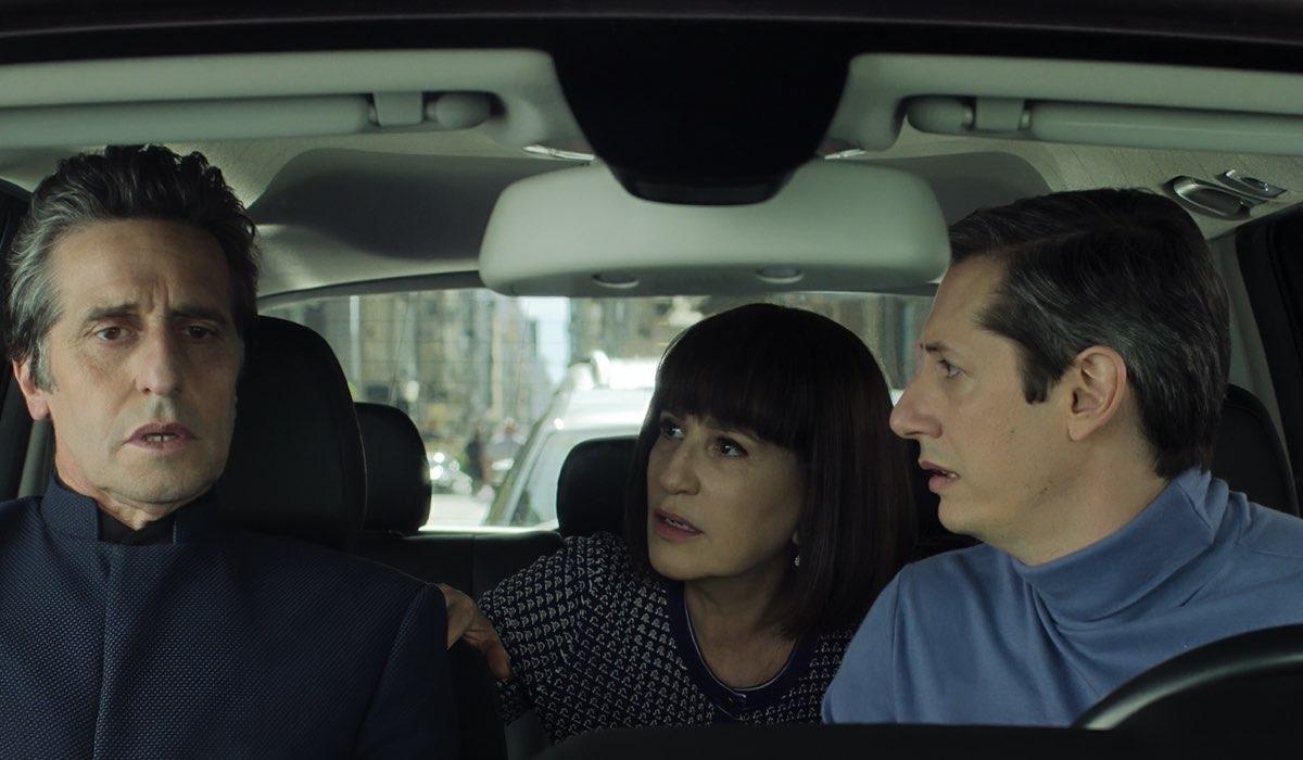 Diego Peretti (Emilio), Mercedes Moran (Elena) e Antonio Caponi (Pablo) In Il Suo Regno Credits: Netflix