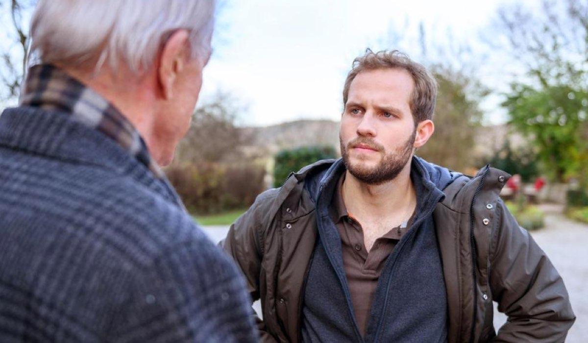 Florian Parla Con Werner In Tempesta D'Amore Credits: Das Erste