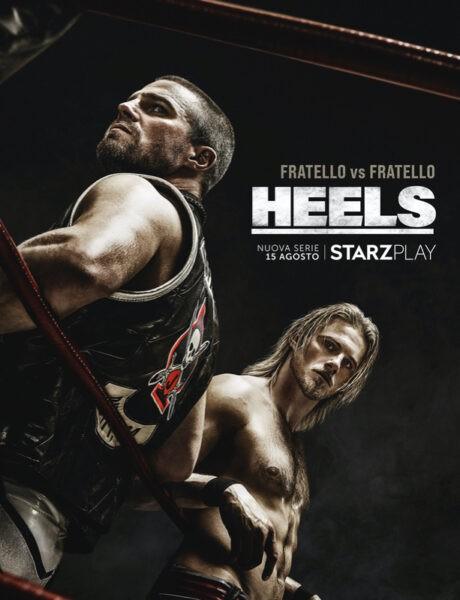 Heels, il poster della serie. Credits: Starzplay.