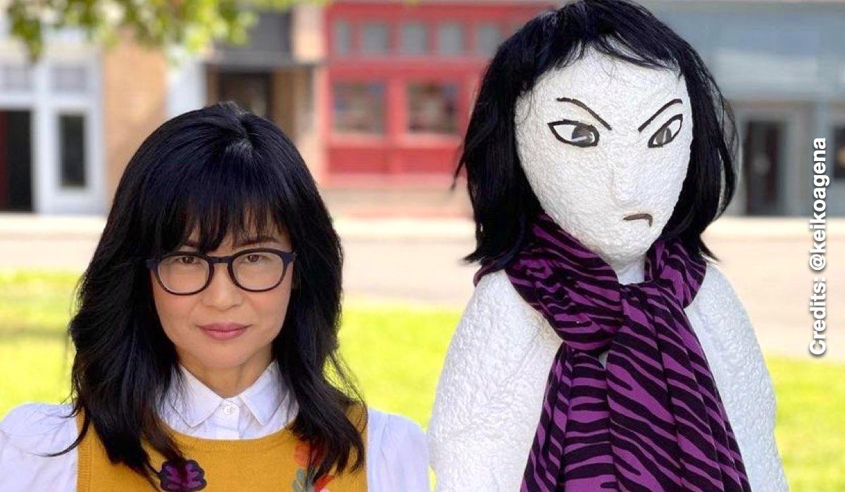 Keiko Agena di Una Mamma Per Amica è Lane Kim. Credits: Instagram Via Profilo @keikoagena
