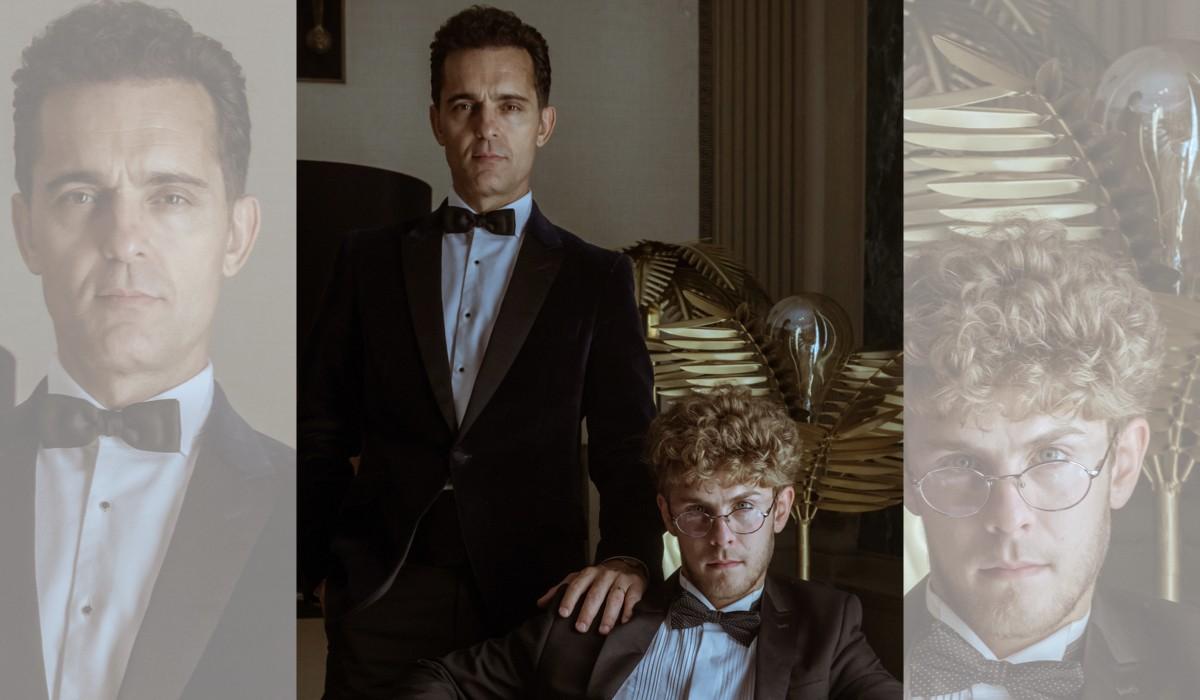 """Da sinistra: Berlino (Pedro Alonso) e Rafael (Patrick Criado) in una scena de """"La Casa Di Carta"""". Credits: Tamara Arranz/Netflix."""