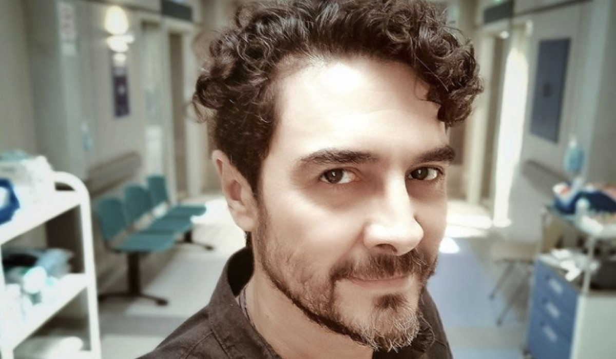 José Manuel Seda, interprete di Sagasta. Credits: Instagram.