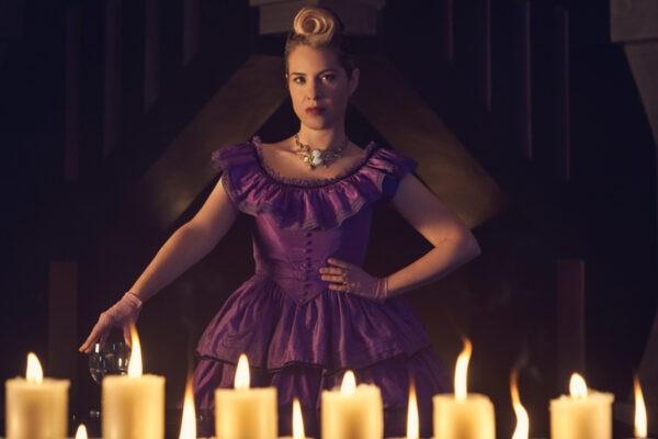 Leslie Grossman (Margaret Booth) in American Horror Story 8. Credits: Disney+/Star