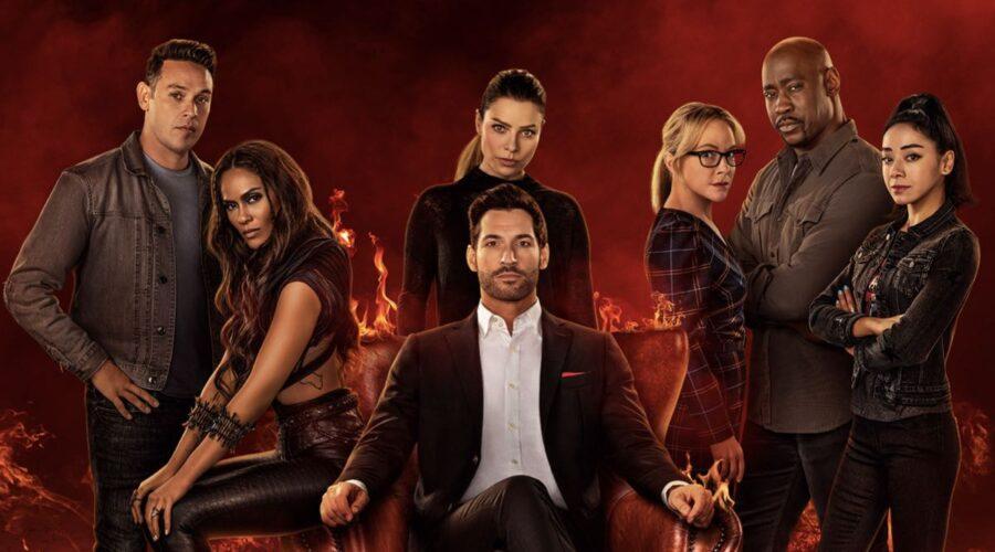 Lucifer Poster Della Stagione 6. Credits: Netflix