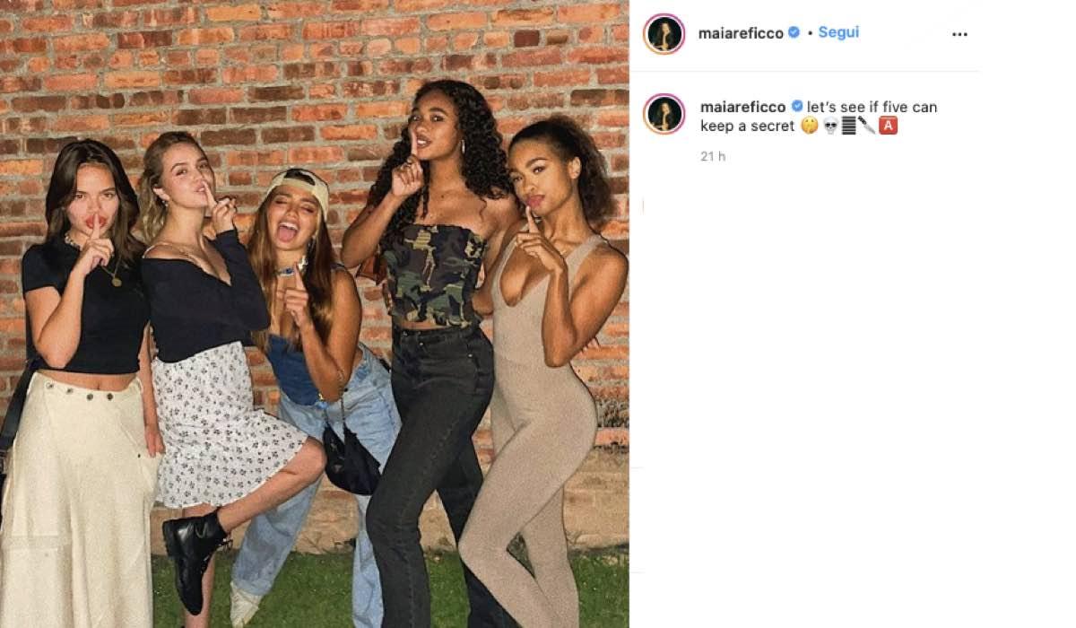 Maia Reficco Ciak Pretty Little Liars Reboot. Credits: Instagram Via Profilo Ufficiale @maiareficco