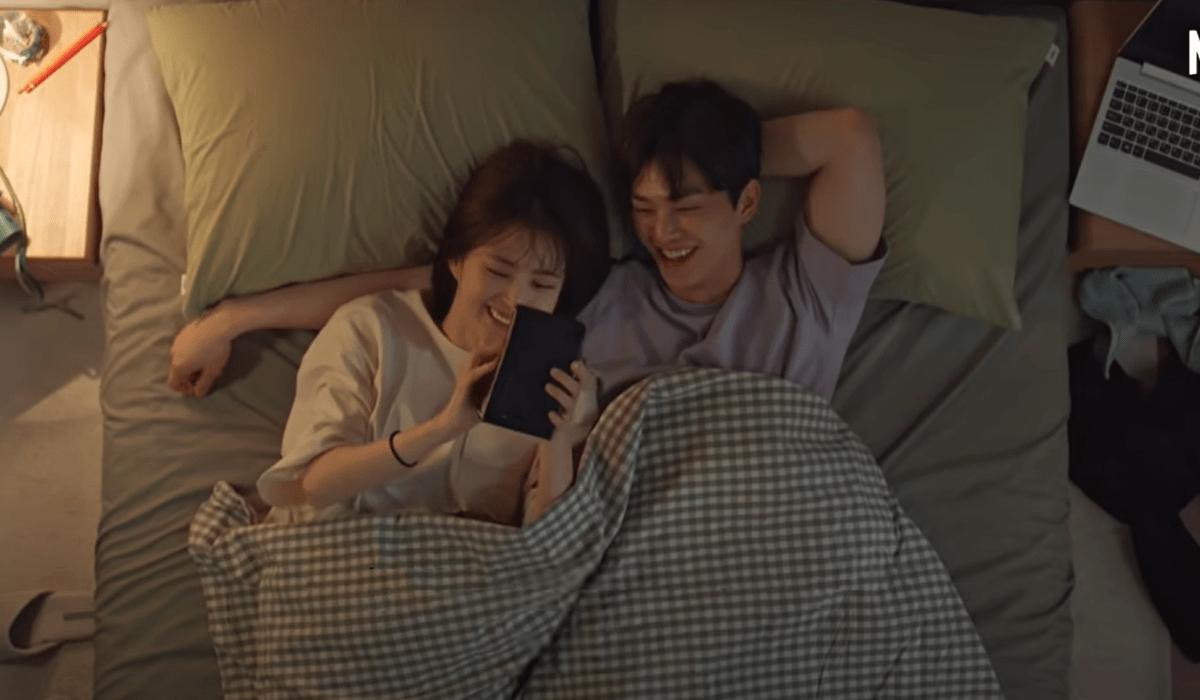 Nevertheless: i protagonisti Yoo Na-bi (Han So-hee) e Park Jae-eon (Song Kang). Credits: Netflix