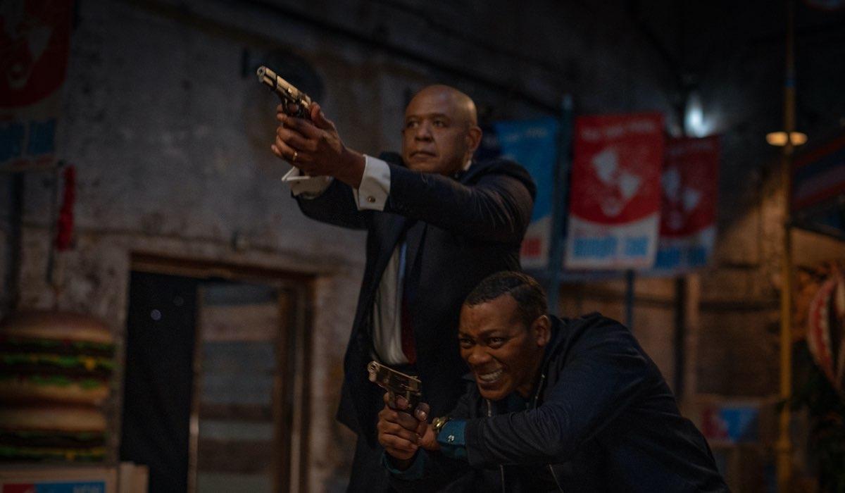 Da Destra Nigel Thatch e Forest Whitaker In Godfather Of Harlem 2. Credits: Star/Disney Plus