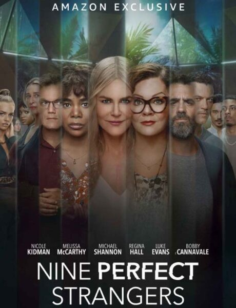 La locandina di Nove perfetti sconosciuti. Credits: Amazon Prime Video.